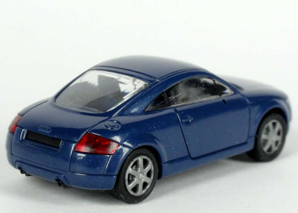 audi tt coup 8n denimblau met werbemodell rietze. Black Bedroom Furniture Sets. Home Design Ideas
