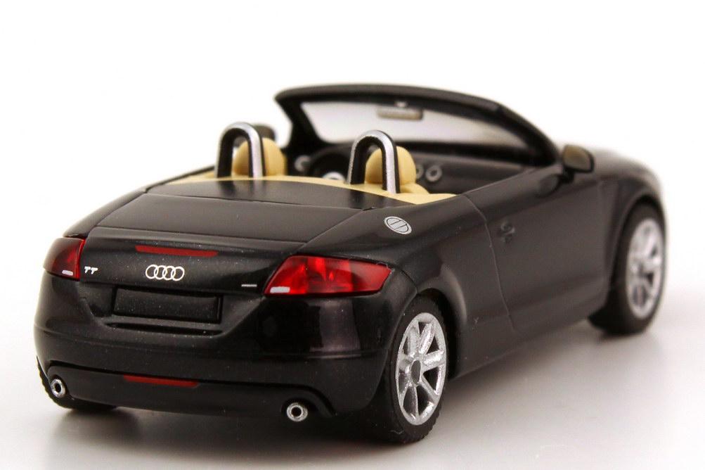 1 87 audi tt roadster 2006 phantom black factory promo. Black Bedroom Furniture Sets. Home Design Ideas