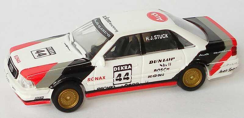 """1:87 Audi V8 DTM 1990 """"SMS"""" Nr.44, H.J.Stuck (oV)"""