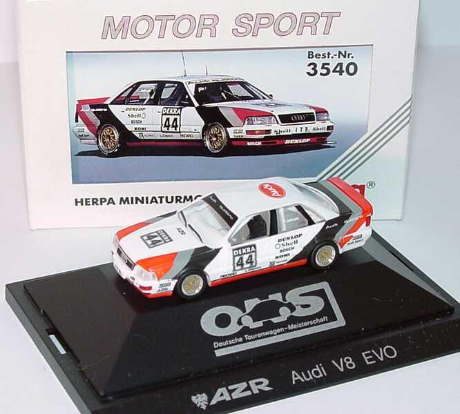 """1:87 Audi V8 Evolution DTM 1991 """"AZR"""" Nr.44, Jelinski"""