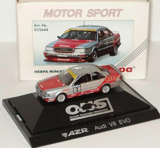 """1:87 Audi V8 Evolution DTM 1992 """"AZR"""" Nr.1, Frank Biela"""