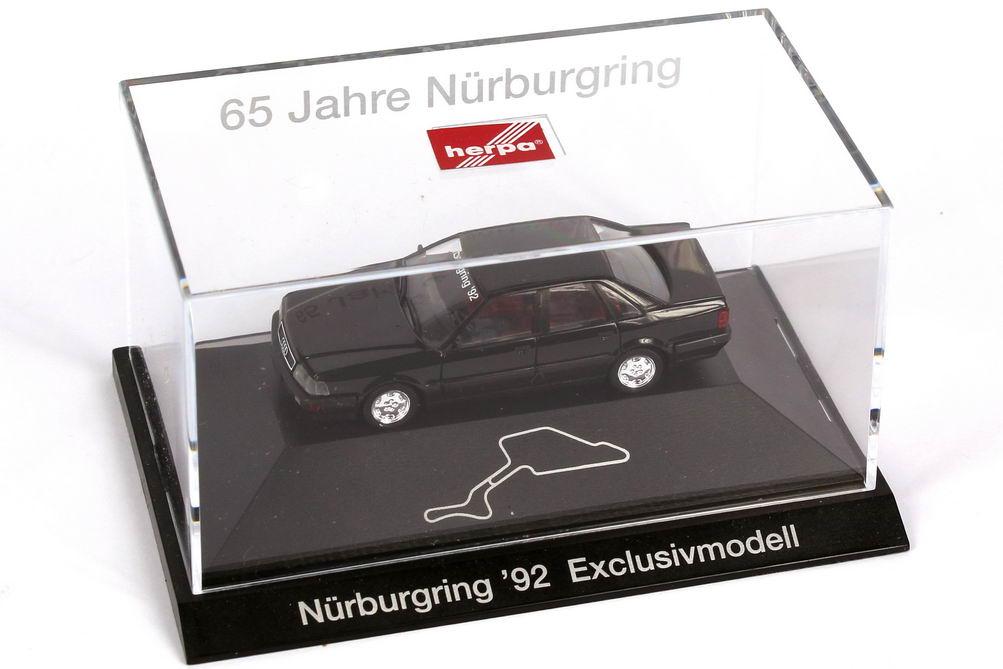 """1:87 Audi V8 schwarz """"Nürburgring ´92 - 65 Jahre Nürburgring"""" (ohne Zertifikat)"""