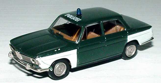 1zu87 BMW 1800 Polizei Brekina 2220 534on Bmw 1800 Ti
