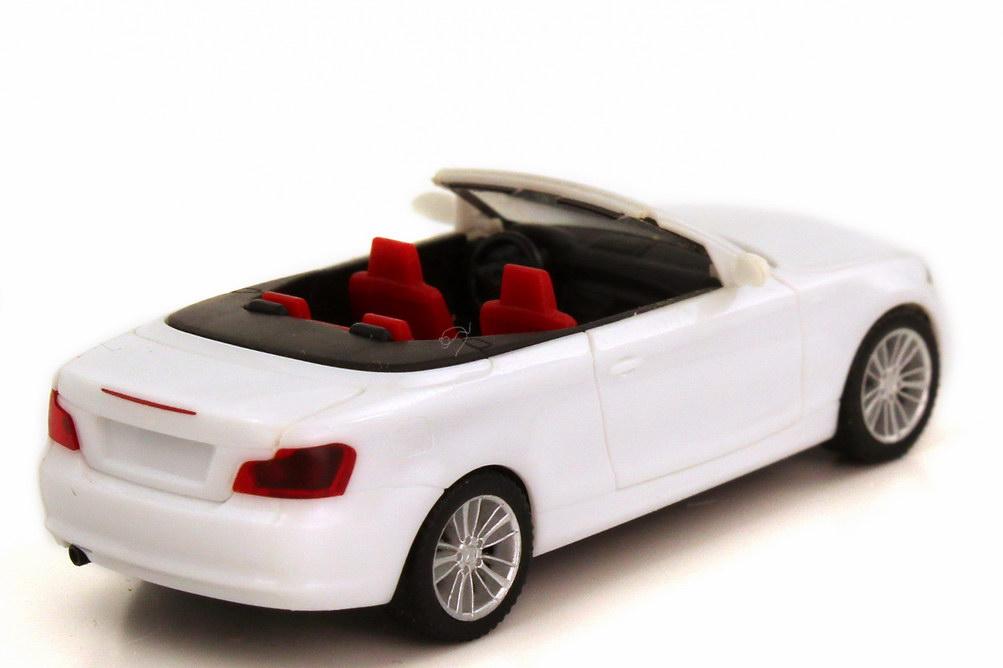 bmw 1er cabrio e88 wei herpa 023979 bild 2. Black Bedroom Furniture Sets. Home Design Ideas