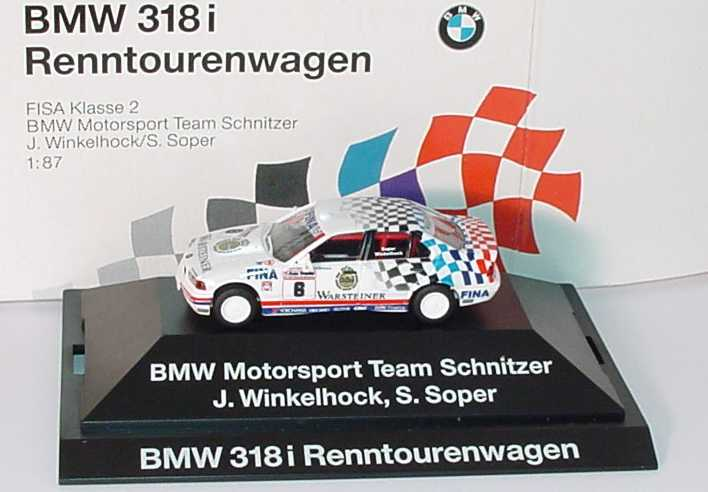 1:87 BMW 318i (E36)  FISA Klasse 2 Renntourenwagen 1993