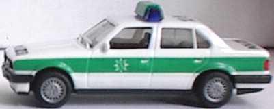 1 87 bmw 325i 4t rig e30 polizei bayrisch 12 8 neue warnleuchten herpa. Black Bedroom Furniture Sets. Home Design Ideas