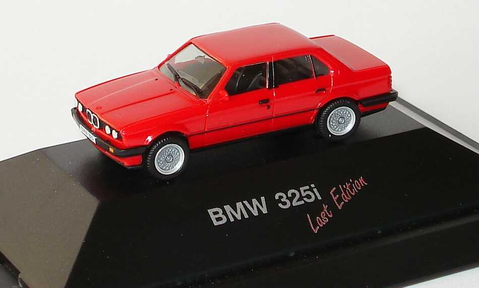 1 87 bmw 325i e30 rot last edition herpa. Black Bedroom Furniture Sets. Home Design Ideas