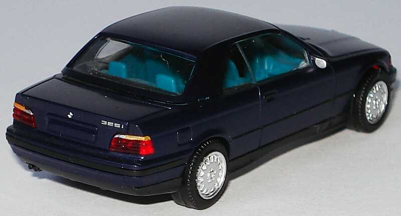 1 87 bmw 325i e36 cabrio mit hardtop mauritiusblau met ohne pc box herpa 100571. Black Bedroom Furniture Sets. Home Design Ideas
