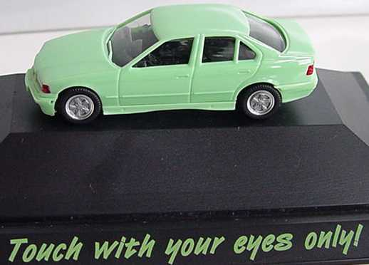 """1:87 BMW 325i (E36) mintgrün """"Touch with your eyes only"""""""