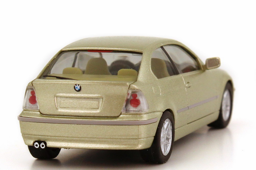 1 87 bmw 325ti compact e46 5 pistace green green dealer. Black Bedroom Furniture Sets. Home Design Ideas