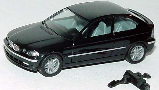 herpa BMW 325ti compact (E46/5) schwarz bei 1zu87.com