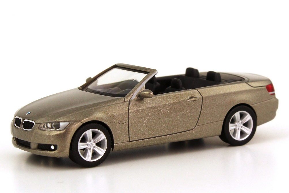 1 87 Bmw 3 Series Cabriolet E93 Platinum Bronze Golden