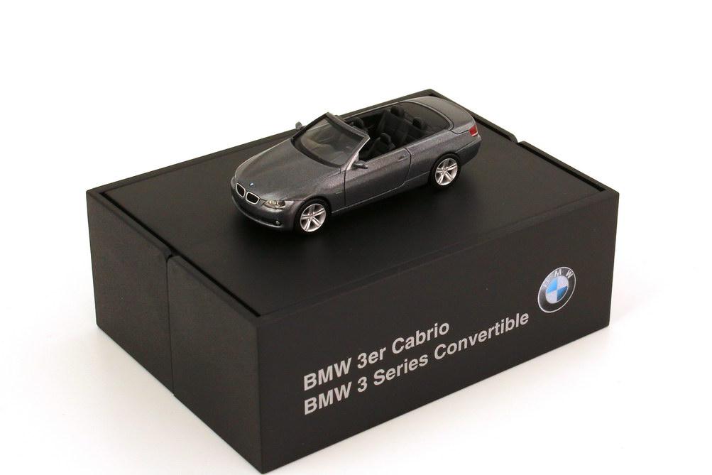 1:87 BMW 3er Cabrio (E93) spacegrey-met. (BMW)