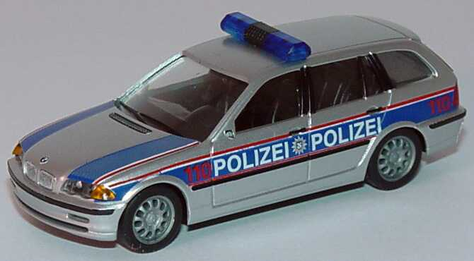 1 87 bmw 3er touring e46 polizei farbstudie polizeif hrungsakademie m nster herpa 269438. Black Bedroom Furniture Sets. Home Design Ideas