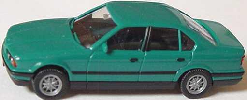 1:87 BMW 5er 520i (E34) türkis (oV)