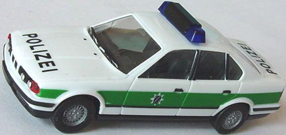 1 87 bmw 525i e34 polizei bayrisch neue warnleuchten herpa 041997. Black Bedroom Furniture Sets. Home Design Ideas