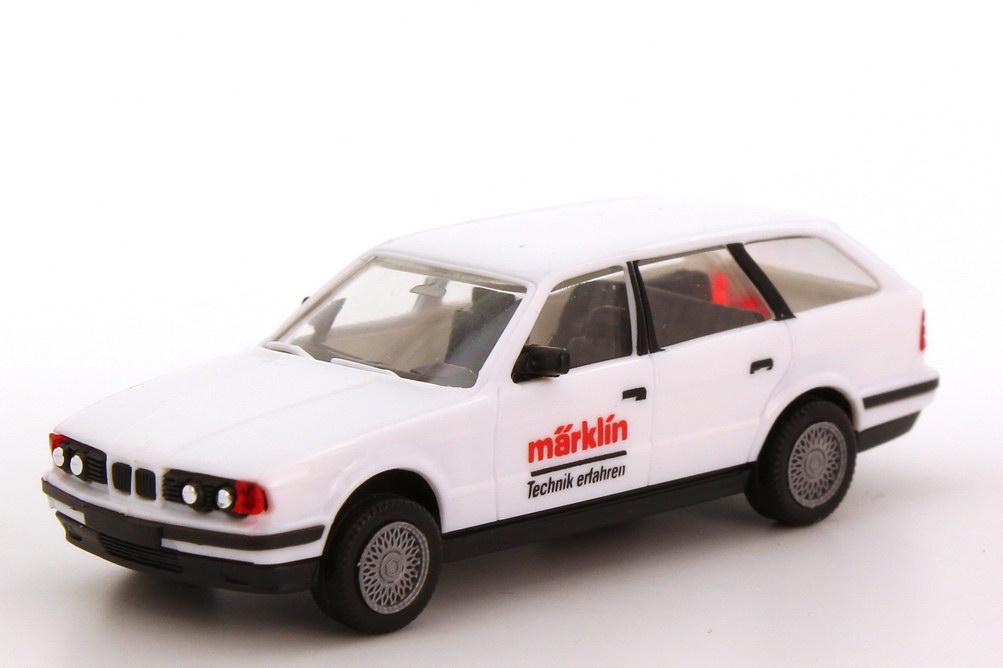 Foto 1:87 BMW 5er 525i touring E34 weiß Märklin - herpa