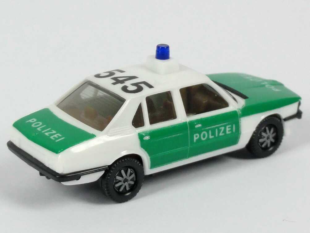 Bmw 528i E12 Polizei 545 Eckiger Leuchtensockel Herpa Bild 3