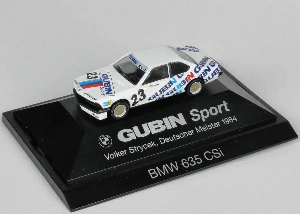 """1:87 BMW 635 CSI (E24) DM 1984 """"Gubin Sport"""" Nr.23, Strycek"""