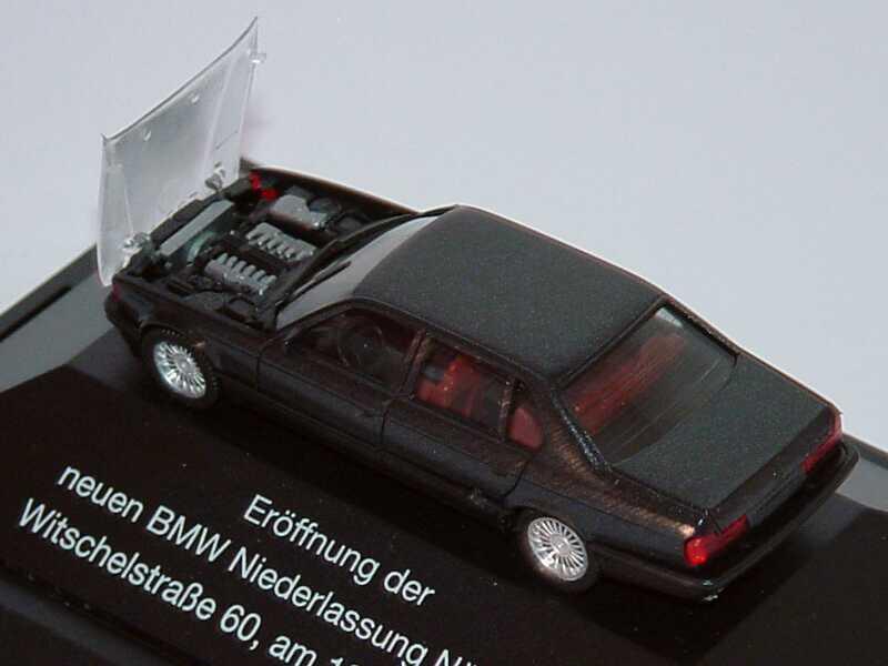 bmw 750il e32 anthrazit met mit transparenter. Black Bedroom Furniture Sets. Home Design Ideas