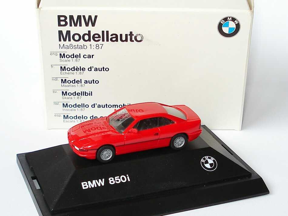 1:87 BMW 850i rot (BMW)
