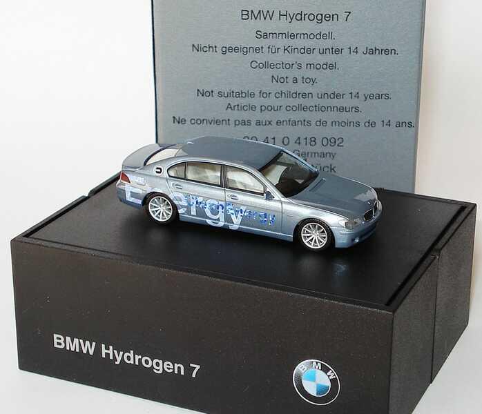 1:87 BMW Hydrogen 7 (E68) bluewatermet.