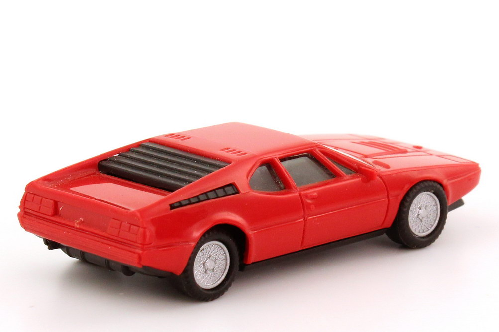 1 87 Bmw M1 E26 Brilliant Red Herpa 2018 Ebay