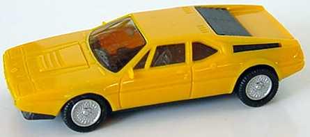 1:87 BMW M1 orangegelb (oV)