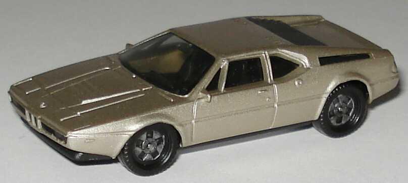 1:87 BMW M1 rauchsilber-met., einteilige Räder