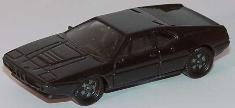 1:87 BMW M1 schwarzmet. (Farbmarkierung am Boden)