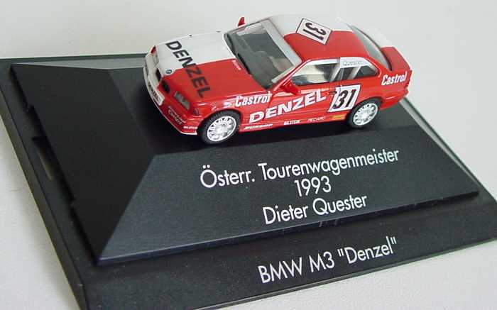 Foto 1:87 BMW M3 Coupé (E36) Denzel Nr. 31, Dieter Quester (ÖTM 1993) herpa