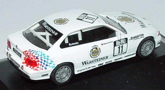 Foto 1:87 BMW M3 Coupé (E36) Gruppe N Menton, Warsteiner Nr.11, Sabine Schmitz Werbemodell herpa 80419420607