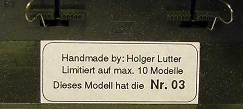 Foto 1:87 BMW M3 Coupé (E36) Original BMW M Zubehör Nr.25 (Handmade) herpa