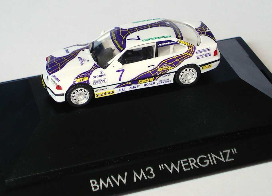 """1:87 BMW M3 Coupé (E36) """"Werginz"""" Nr.7, Wüstinger"""
