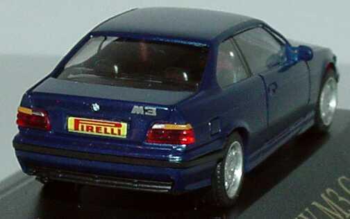 Foto 1:87 BMW M3 Coupé (E36) avusblau-met. BMW M Club, Pirelli herpa
