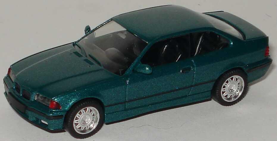 Foto 1:87 BMW M3 Coupé (E36) lagunengrün-met. herpa 031172