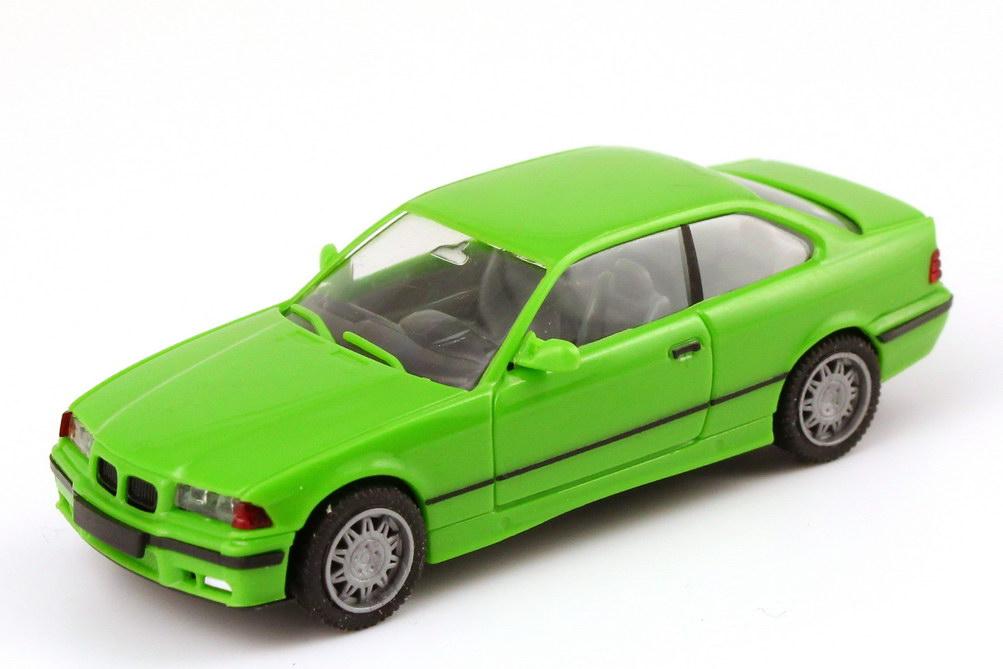 Foto 1:87 BMW M3 Coupé (E36) maigrün herpa 021173