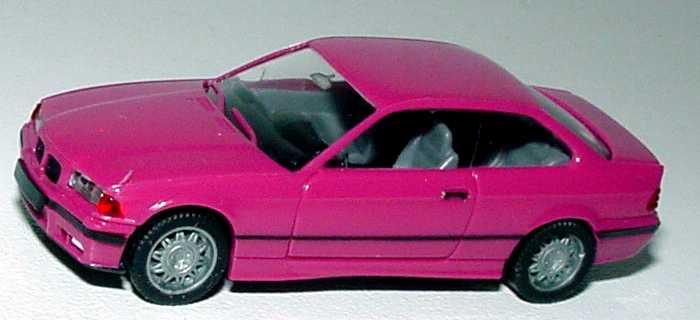 Foto 1:87 BMW M3 Coupé (E36) pink herpa 021173