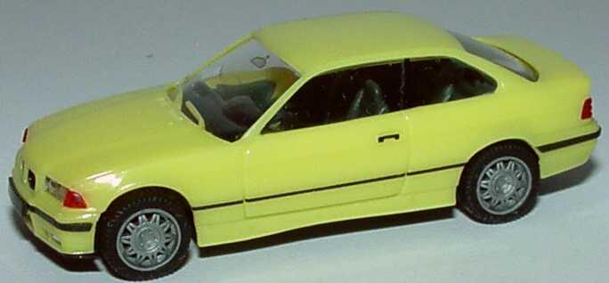Foto 1:87 BMW M3 Coupé (E36) schwefelgelb herpa 021173