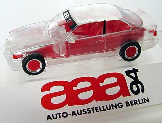 Foto 1:87 BMW M3 Coupé (E36) transparent aaa ´94 herpa
