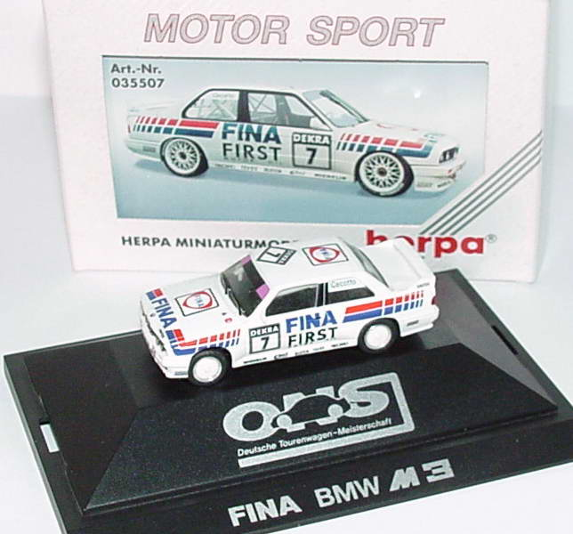 "1:87 BMW M3 (E30) DTM 1992 ""Fina First"" Nr.7, Cecotto"