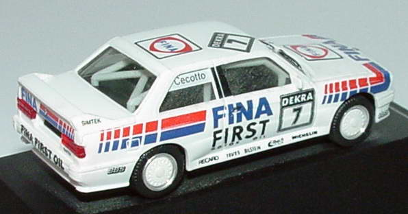 "1:87 BMW M3 (E30) DTM 1992 ""Fina First"" Nr.7, Cecotto (oV)"