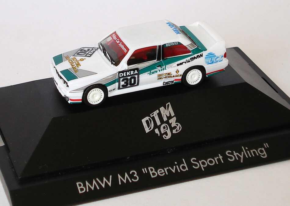 "1:87 BMW M3 (E30) DTM 1993 ""Bervid Sport Styling"" Nr.30, Bervid"