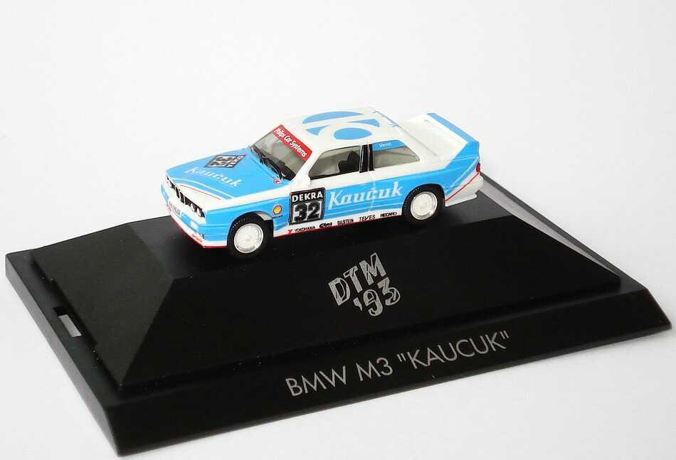 """1:87 BMW M3 (E30) DTM 1993 """"Kaucuk"""" Nr.32, Venc"""