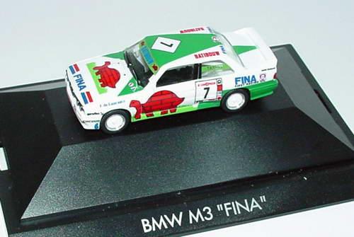 """1:87 BMW M3 (E30) """"Fina"""" Nr. 7, Tassin (Bel. Procar ´93) (oV)"""
