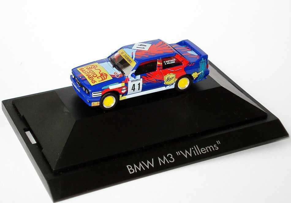 """1:87 BMW M3 (E30) """"Foto Bastiaens"""" Nr.41, Bastiaens / Willems"""
