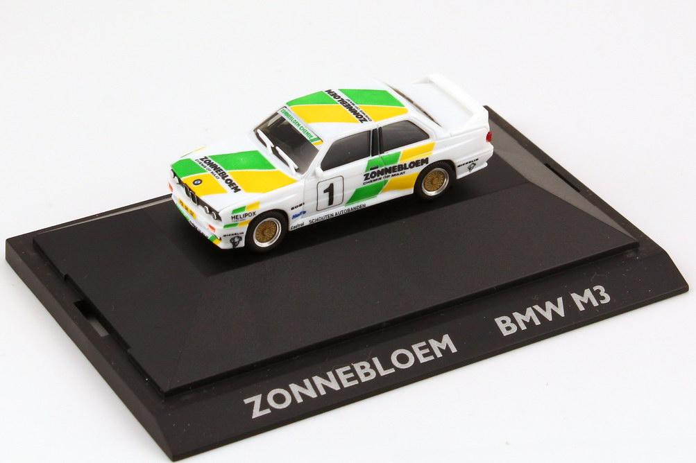 """1:87 BMW M3 (E30) """"Zonnebloem"""" Nr.1 (De Kleine)"""