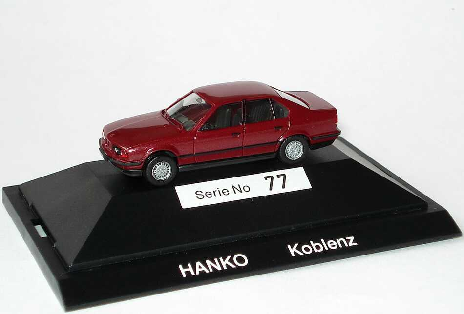 1 87 bmw setpackung hanko koblenz 7 modelle limited edition 80 pcs herpa. Black Bedroom Furniture Sets. Home Design Ideas