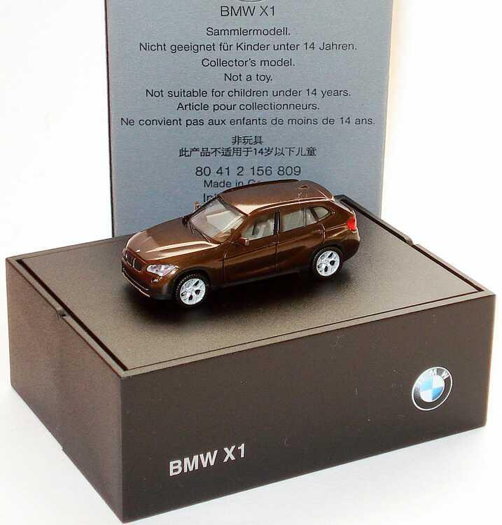 Foto 1:87 BMW X1 (E84) marakeshbraun-met. Werbemodell herpa 80412156809