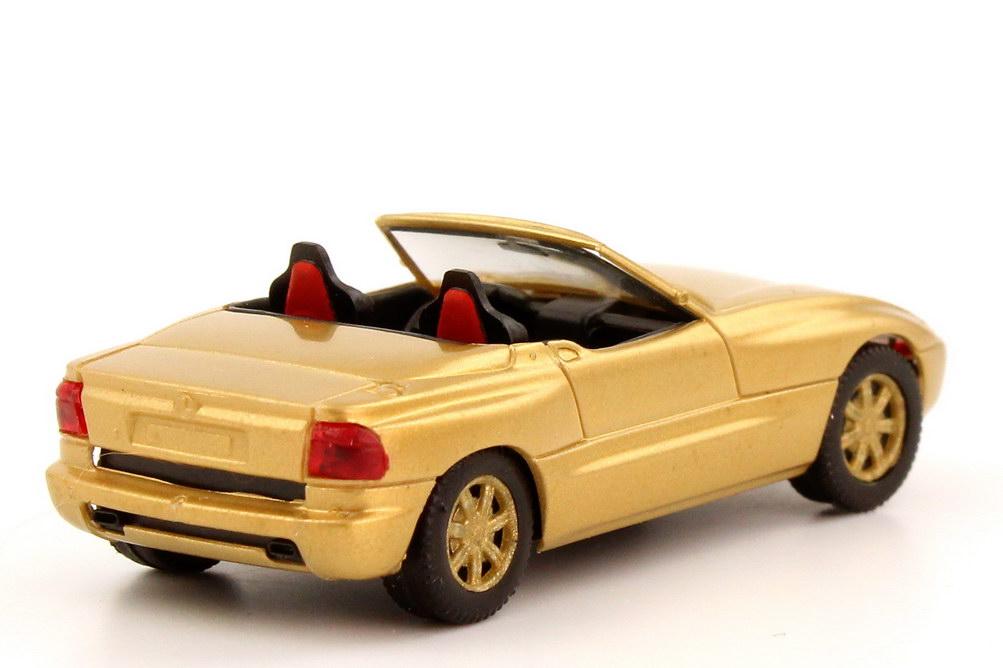 1 87 Bmw Z1 Gold Metallic Herpa Ebay